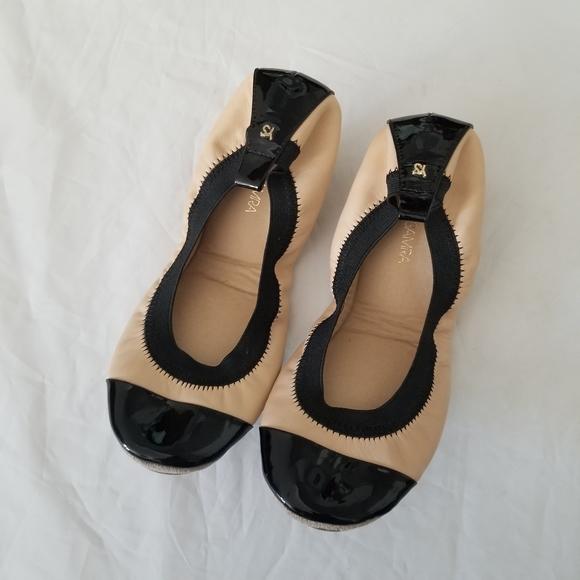 Yosi Samra quilted ballet flat size 8